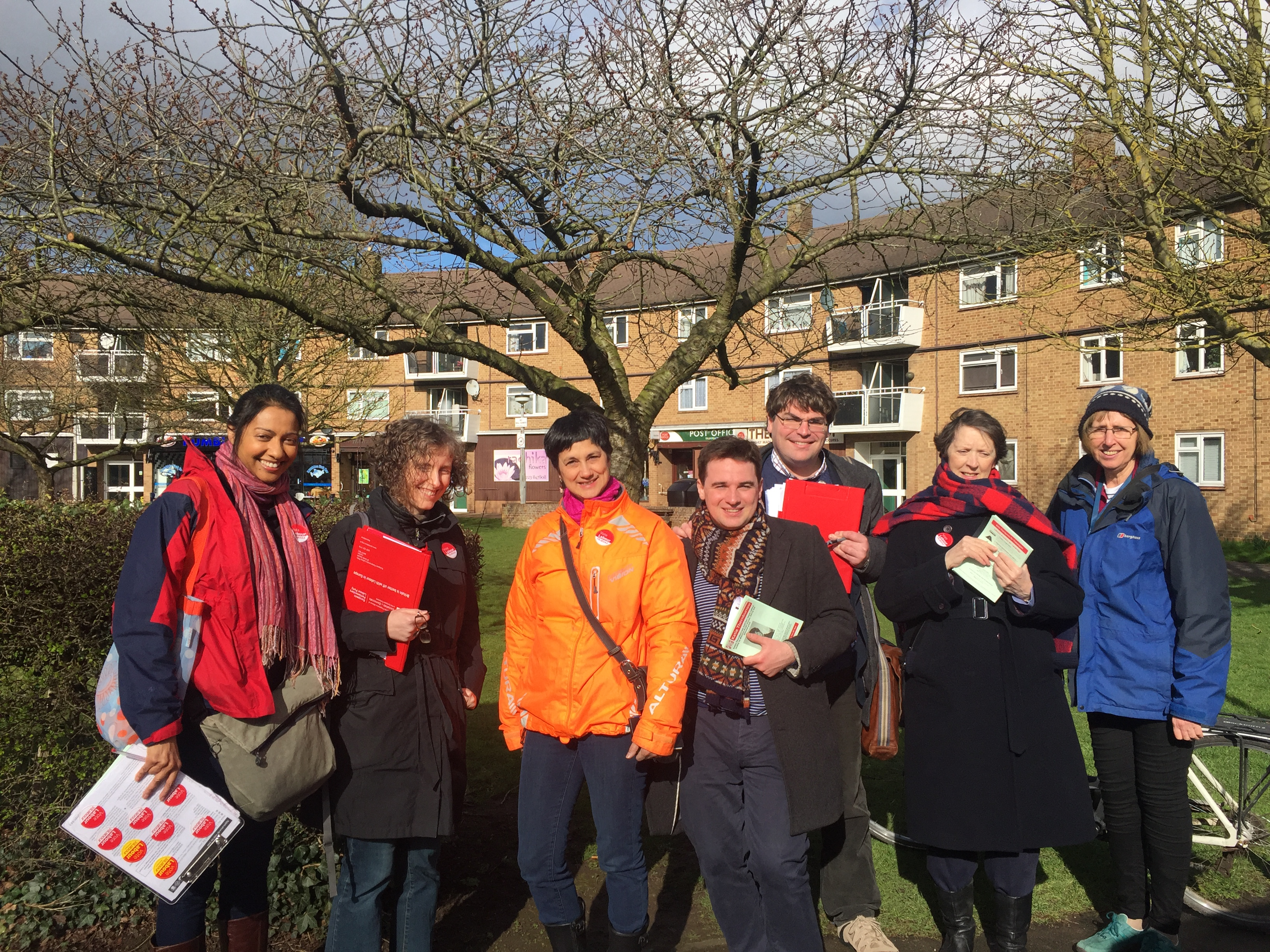 Campaigning for Trumpington