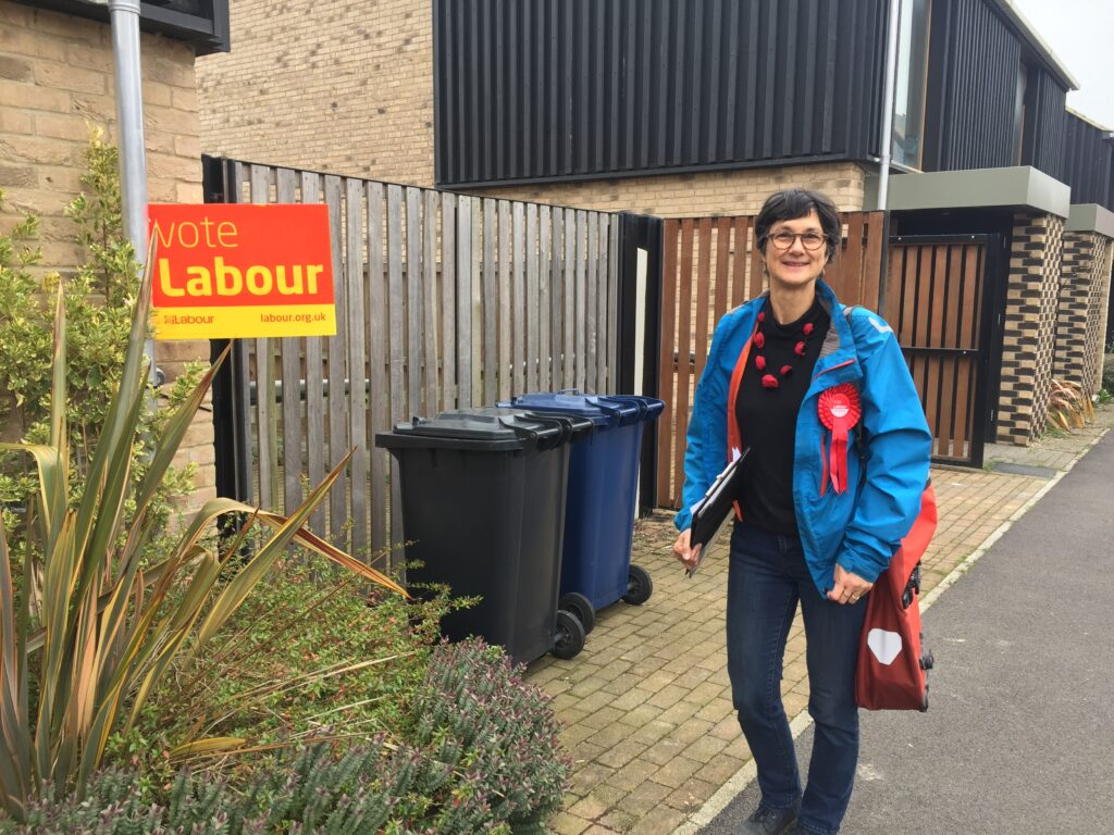 Lots of Labour Support in Trumpington!
