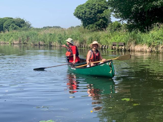 katie canoeing